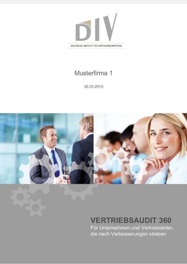 Bild Musterreport_Vertriebsaudit_Deckblatt