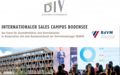 2. Internationaler Sales Campus Bodensee