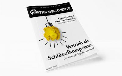 Der Vertriebsexperte – Ausgabe 01/2020